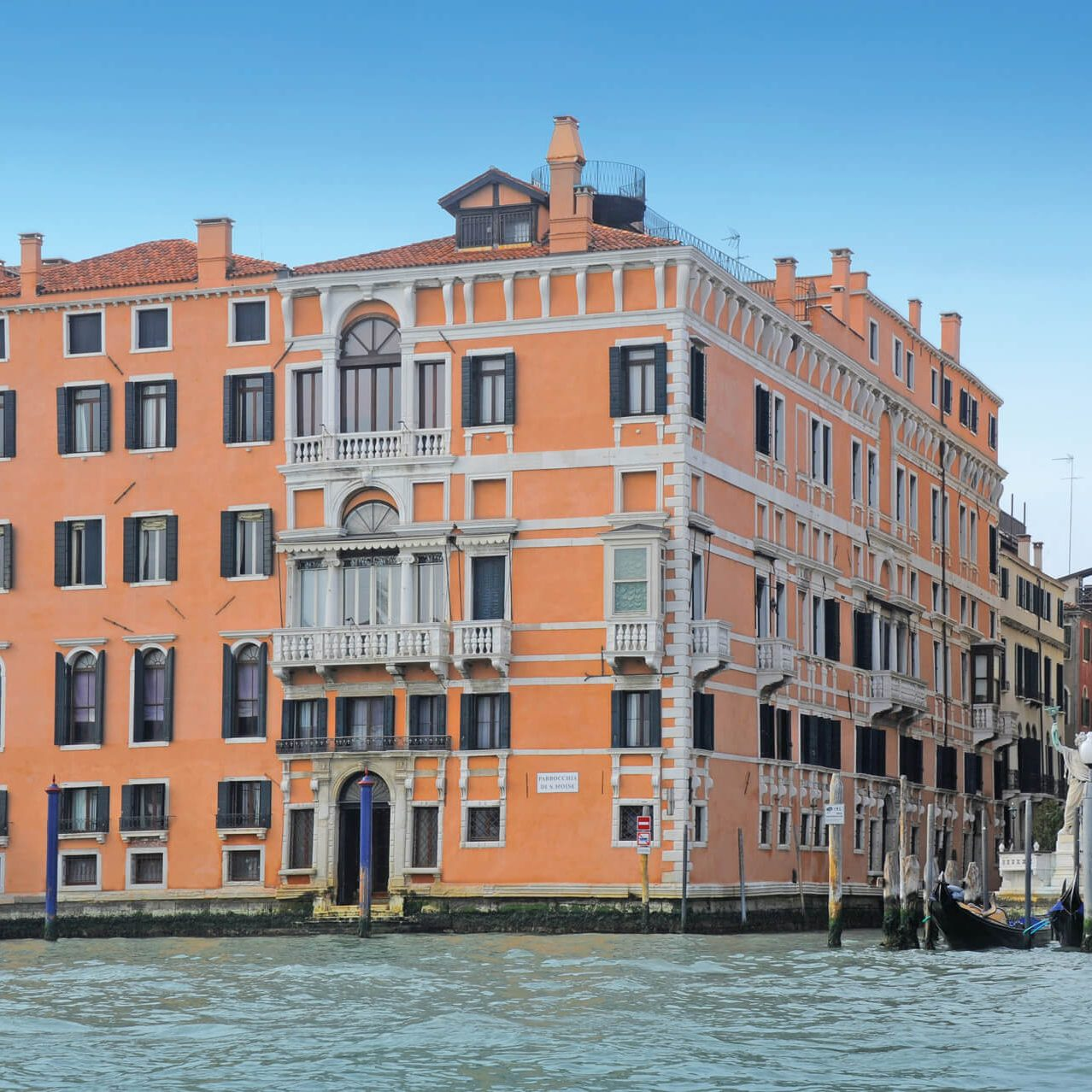 Palazzo Ca'nova on the Grand Canal