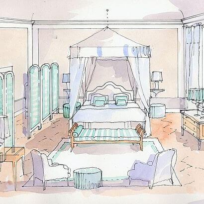 The PALAZZO: Paolo Fiumi's interior design of Lipparini